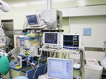Monitors for anesthesiologists