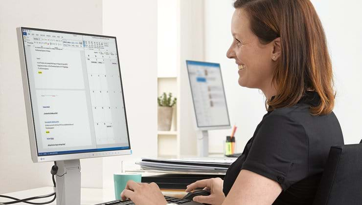 Ergonomic Business Monitors