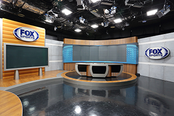 FOX SPORTS' newly-built studio